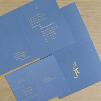 Reiner/McCann Wedding Invitation Design
