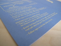 Reiner/McCann Wedding Invitation Design