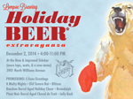 lompoc holiday 2014 beer poster