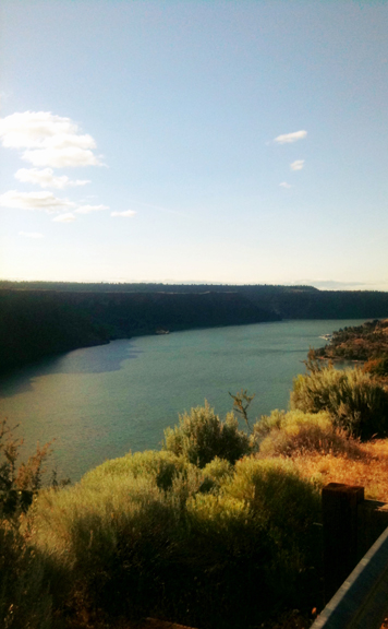 Lake Billy Chinook Crooked River
