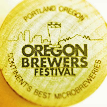 Oregon Brewers Fest token