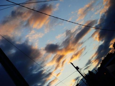 Sunset Alberta Street