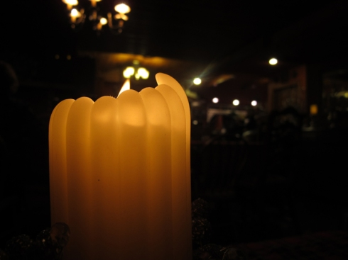 Christmas Eve candlelight