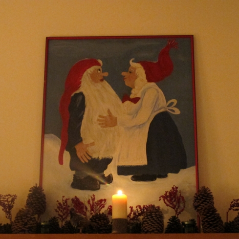 Santa and Mrs. Claus?