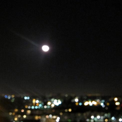 Moon, Phoenix, AZ