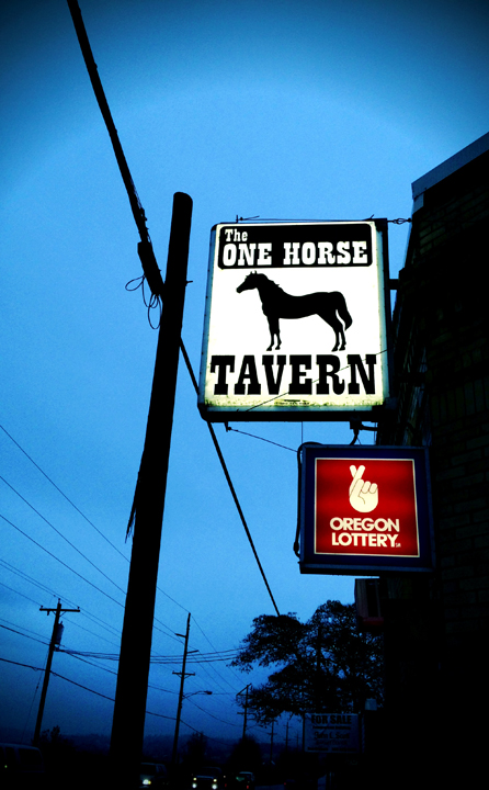 One Horse Taver, Gaston, Oregon