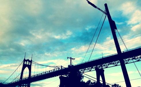St John's Bridge, Portland