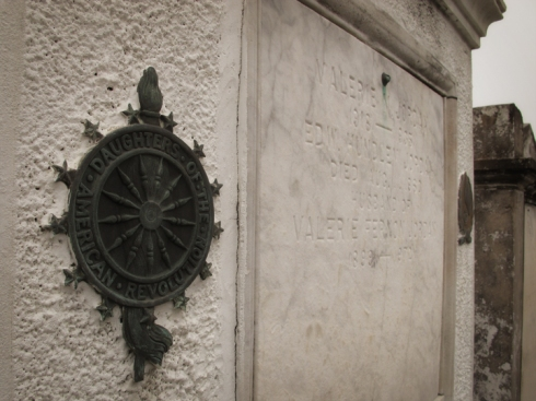 Daughters of the American Revolution, St Louis 1, New Orleans