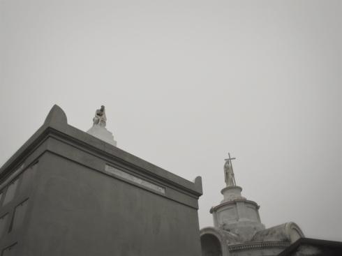 Statues, St Louis 1, New Orleans