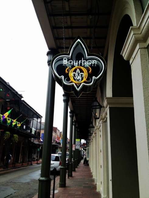 Bourbon Street Neon - New Orleans