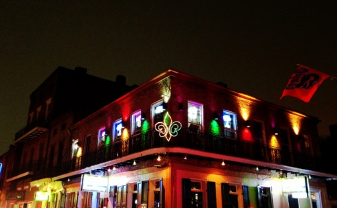 Neon Fleur di Lis - French Quarter - New Orleans