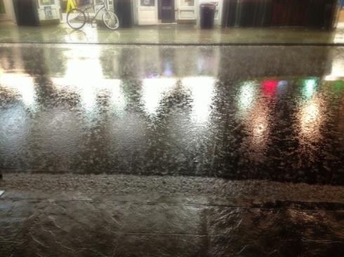 Storm Downpour New Orleans