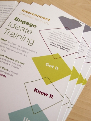 Autodesk Software Training Sales Direct Mail Postcard