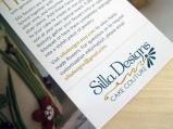 Silla Direct Mail Layout Logo Design