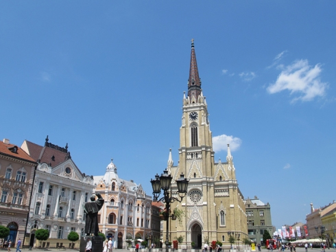 Novi Sad Serbia Balkans Travel