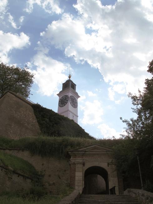 Petrovaradin Fortress Novi Sad Serbia Balkans Travel
