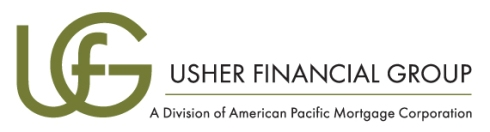 Usher Financial Group Logo Design Rebrand