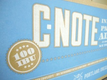 Design by Jen + Lompoc Brewing: C-Note IPA Case Design