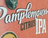 Design by Jen + Lompoc Brewing: Pamplemousse IPA 6-Pack Design