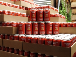 Lompoc Brewing Proletariat Red Beer Cans