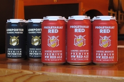 Lompoc Brewing Beer Can Designs