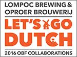 Lompoc Brewing Oproer Brouwerij Collaboration Beer Poster