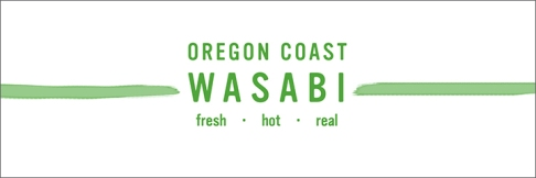 Oregon Coast Wasabi Social Media Header Design